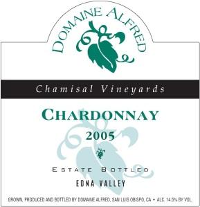 2005 Domaine Alfred Chardonnay