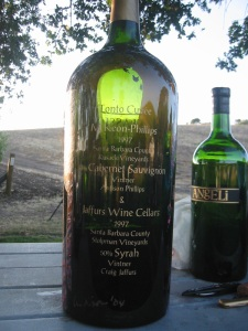 9 liter bottle of 1997 Tonto Cuvee (one of a kind)