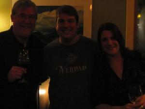 Bob Lindquist, Ethan Lindquist and Paige Lindquist