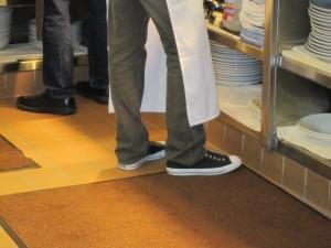 chef footwear