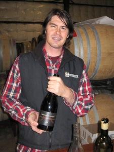 Dragonette winemaker Brandon Sparks-Gillis