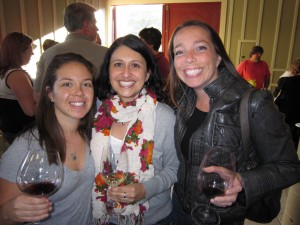Ashley, Janeen and Anne from Tre Anelli and Consilience