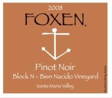 Foxen Block N Pinot Noir