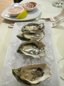 The Kumamato oysters at Root 246 are FABULOUS.