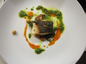 The black cod was fabulous!