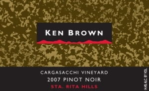 2007 Ken Brown Cargassachi Pinot Noir