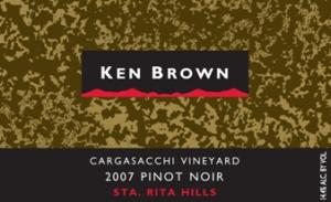 2007 Ken Brown Cargassachi Pinot Noir