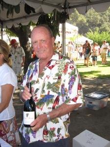 Dan Reeves of Reeves Ranch Vineyard