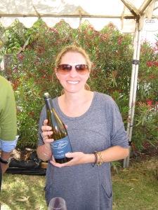 Morgan Clendenen winemaker/owner of Cold Heaven
