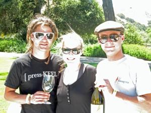 Dieter Cronje and Matt Murphy winemakers of Presqu'ile